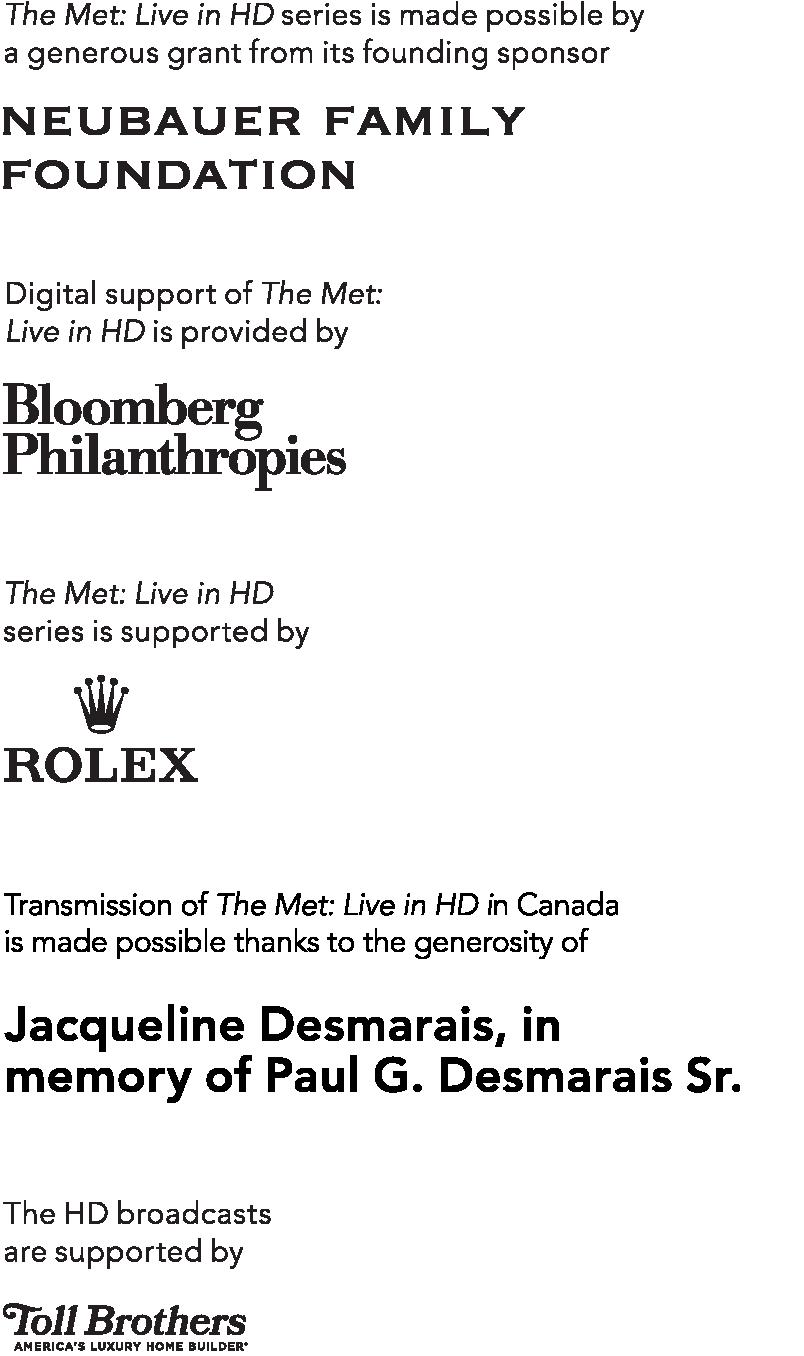 Metropolitan Opera Live Stream