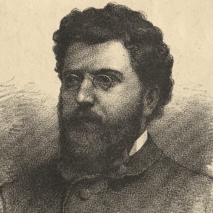 Headshot of Georges Bizet