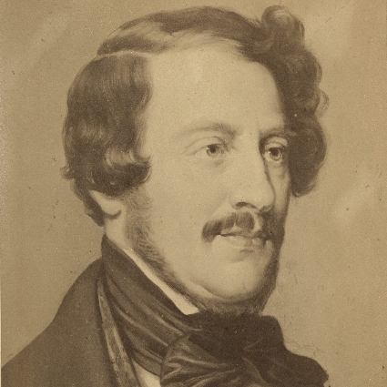 Headshot of Gaetano Donizetti