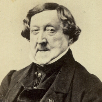 Headshot of Gioachino Rossini