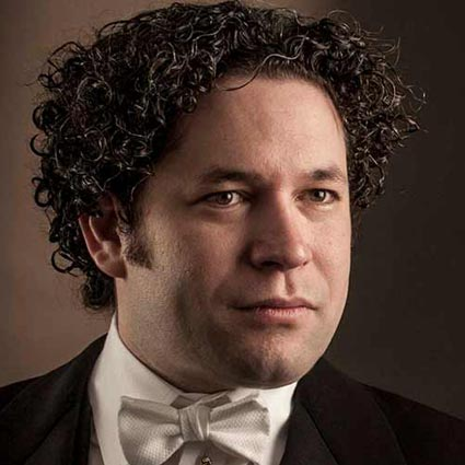 Headshot of Gustavo Dudamel