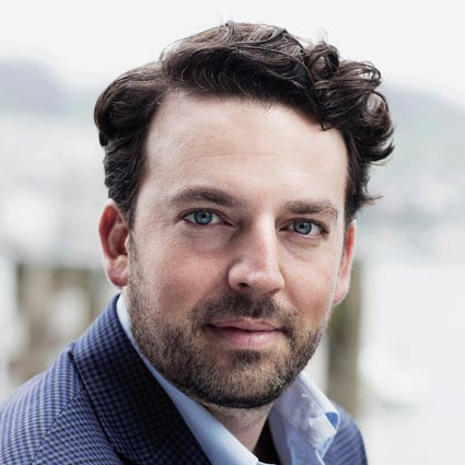 Headshot of James Gaffigan