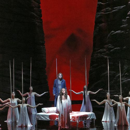 A scene from Parsifal