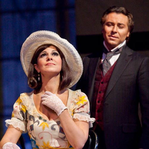 Angela Gheorghiu and Roberto Alagna in La Rondine