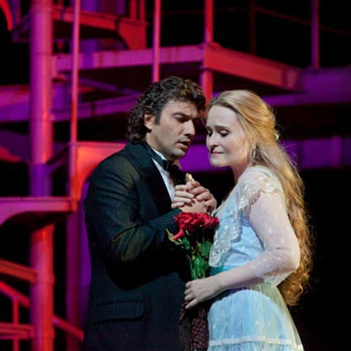 Jonas Kaufmann and Marina Poplavskaya in Faust