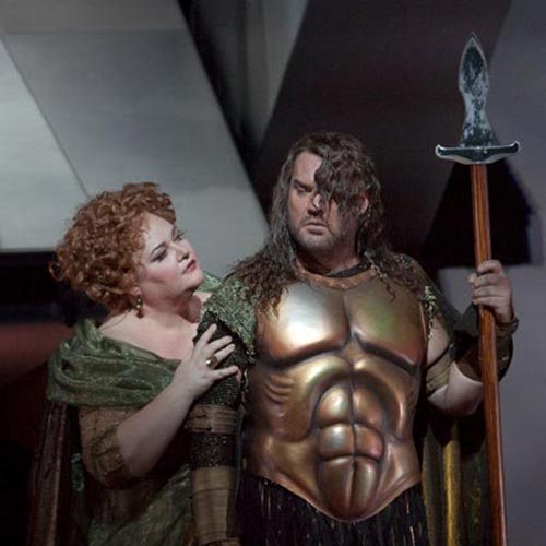 Bryn Terfel and Stephanie Blythe in Das Rheingold