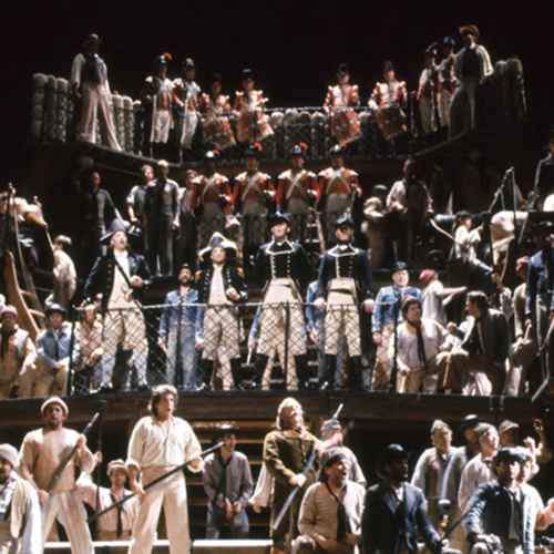 A scene from Billy Budd
