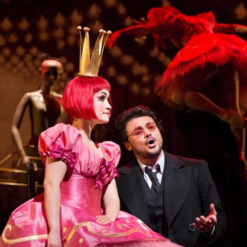 Erin Morley and Vittorio Grigolo in Les Contes d'Hoffmann