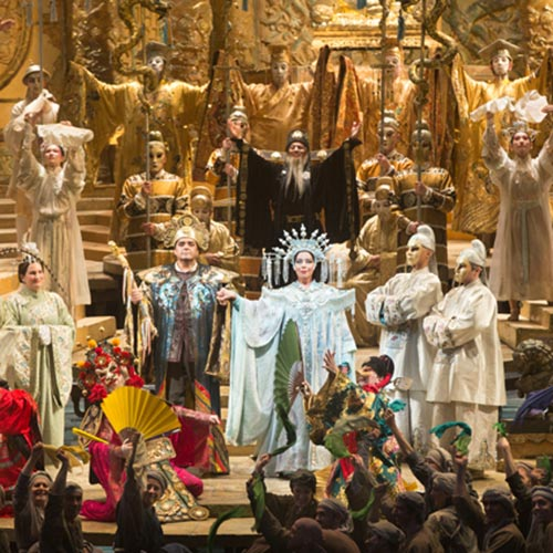 A scene from Turandot