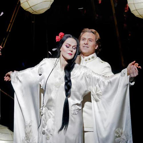 Kristine Opolais and Roberto Alagna in Madama Butterfly