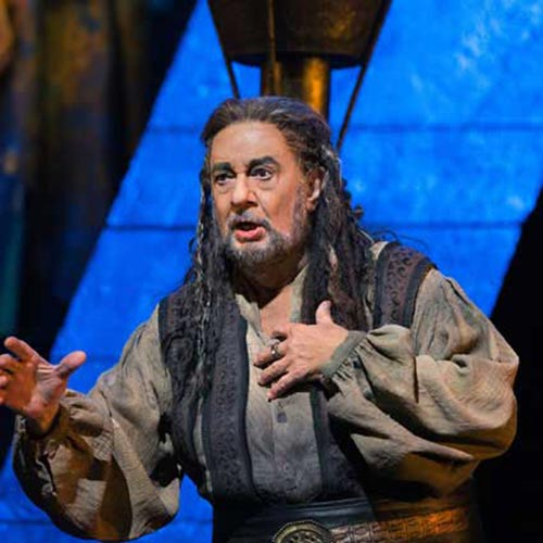 Plácido Domingo in Nabucco