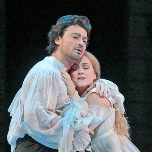 Vittorio Grigolo and Diana Damrau in Roméo et Juliette