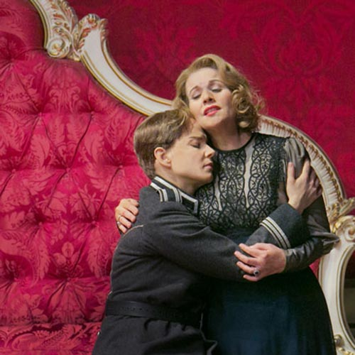 Elīna Garanča and Renée Fleming in Der Rosenkavalier