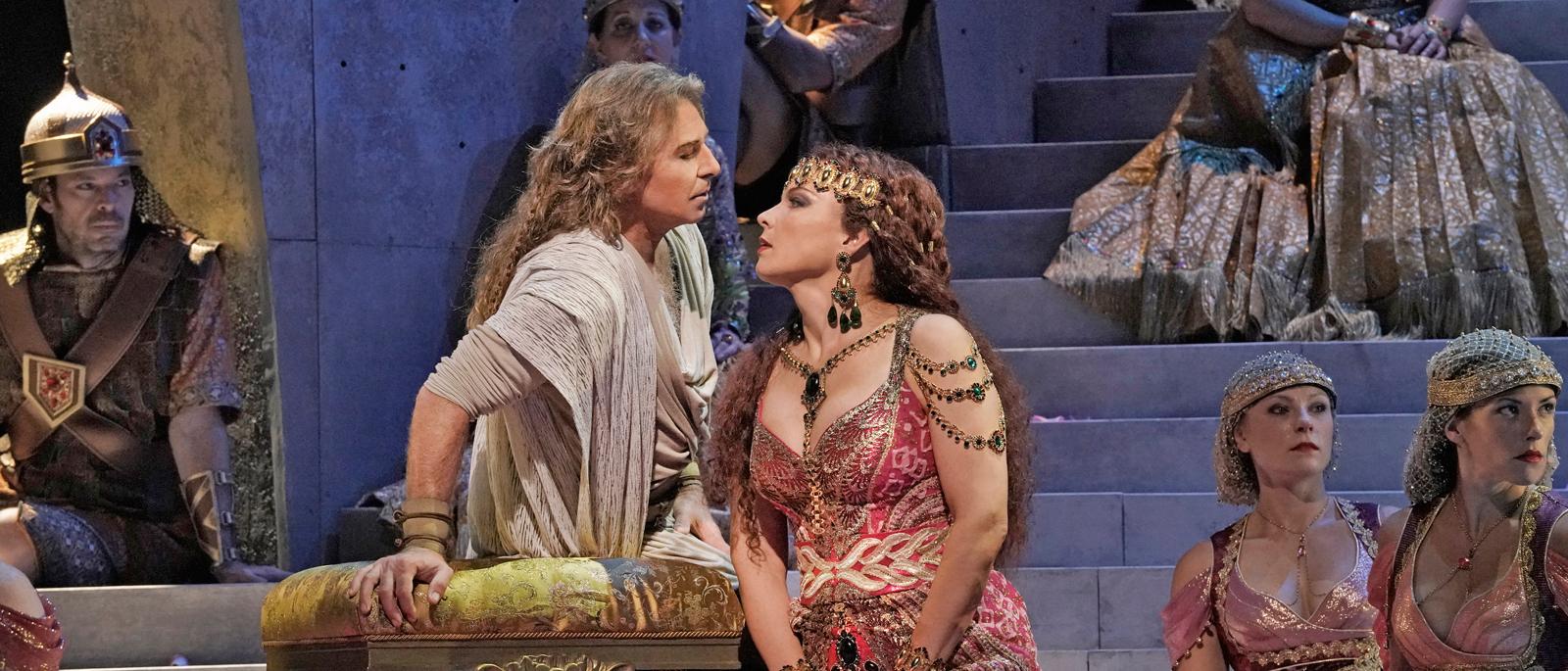 Αποτέλεσμα εικόνας για Samson et Dalila: Darko Tresnjak, Roberto Alagna, and Elīna Garanča Metropolitan Opera