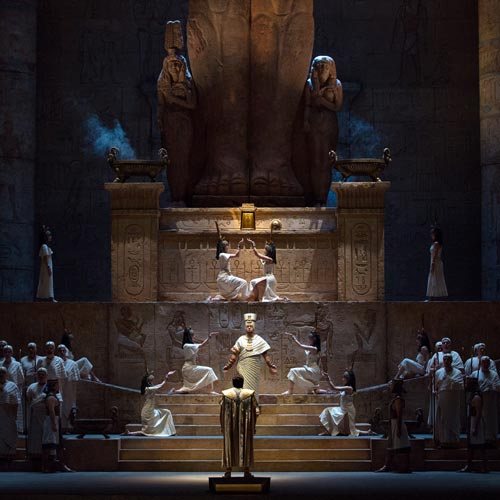 A scene from Aida